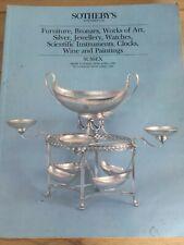 Sotheby's – April 1986, Furniture, Bronzes, Works of Art..