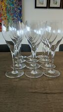 """Baccarat St Remy 8 1/2"""" Water Goblet Set of 12"""