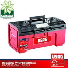 USAG 641 TA CASSETTA PORTAUTENSILI con vano porta miniature chiusura in acciaio