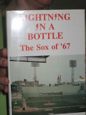 LIGHTNING IN A BOTTLE THE RED SOX OF '67 BASEBALL BOOK Mint shape