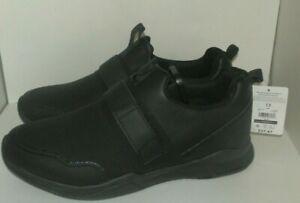 New Mens size 13 TredSafe Enduropro Black Shoes Anti Fatigue Slip-Resistant