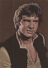 """Star Wars Galaxy 5 - """"Bronze Foil Parallel"""" Chase Card #6"""