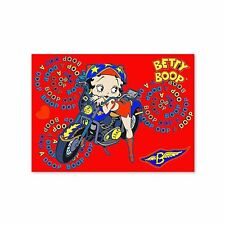 "Betty Boop Red Motorcycle Postcard 4x6"" Lenticular #BB-205-PC#"