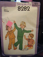 Vintage Simplicity 8282 Toddler's Shorts, Pants & Top Pattern - Size 2 Chest 21