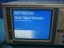 Calibrated Rohde Amp Schwarz Smu 200a Smu200a Vector Signal Generator With Options