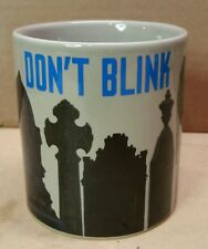 Dr. Who Mug Weeping Angel Temperature Sensitive Scene