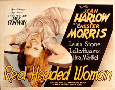 Red-Headed Woman - 1932 - Jean Harlow Chester Morris - Vintage Pre-Code Film DVD