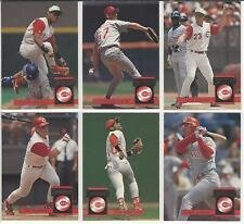1994 Donruss Cincinnati Reds Team Set