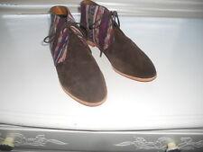 New Dolce Vita ~ Art to Wear~ Ethnic Kilim Boho Ankle Oxford Boot Shoe ~ 9 1/2 M