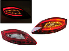 USA 05-08 Porsche Boxster/Cayman 987 981 Style Red/Clear Light Bar LED Tail Lamp