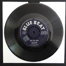 """Gli echi del CELESTE lmpero sei MINIERA BLUE BEAT BB89 UK Press 7"""" 45 IN VINILE REGGAE"""