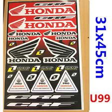 HONDA Sticker Decal Car Motorised Bike Dirt ATV Quad Motorcycle Scooter Motorcro