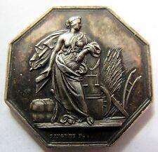 Médaille - Ordonnance Royale - Cie Assurance Incendie - 1814 -