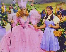 WIZARD OF OZ 8X10 PHOTO MOVIES TV PICTURE GLINDA THE GOOD WITCH DOROTHY