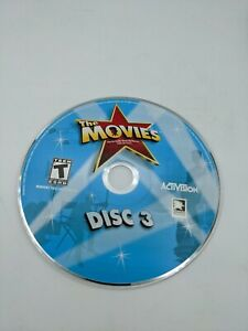 The Movies (PC, Windows Game 2005) Lionhead Studios DISC 3 ONLY PC