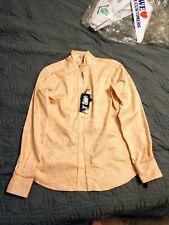 R L Classic Peach English Show Shirt Size 34
