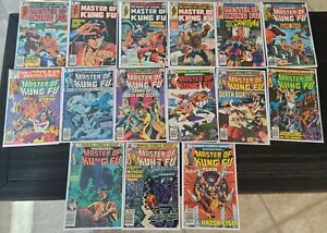 Master Of Kung Fu! 30 COMIC LOT! MCU SOON!