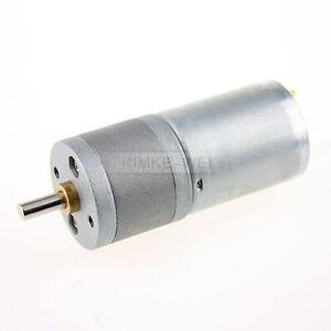 12V DC 60RPM Powerful High Torque Gear Box Motor