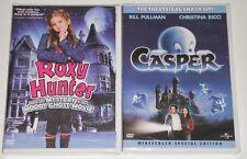 Kid Halloween DVD Lot - Casper (New) Roxy Hunter Moody Ghost Movie (New)