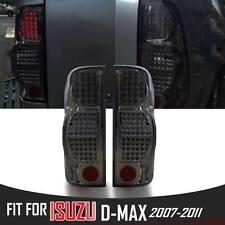 Eagle Eye Smoke Black Tail Rear Led Light Lamp Fit Isuzu Dmax D-max 2007-2011