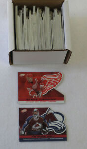 2001-02 Atomic Hockey Red Parallel Set (1-100) (#'d out of 290)