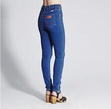 Authentic WRANGLER Hi Twiggy Jeans Jegging Super Blue High Waist {AU/UK 11}