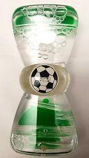 Clessidra 12cm - 1 Minuti - Conta Tempo Liquido Verde con Pallone che Gira