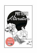 Vintage Sewing Pattern Alteration Guide - Sewing Book - Copy