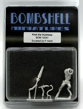 Bombshell BOM10041 Khai the Huntress (Babes) Female Warrior Tiefling Hero Demon
