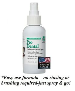 ProDental Pro DENTAL SPRAY DOG CAT PET*Cleans TEETH&Mouth,REDUCES PLAQUE&TARTER