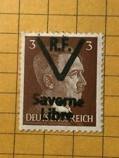GERMANY FRANCE (SAVERNE) 1945 POST WWII-LOCAL ISSUE 3 Rpf.  MNH