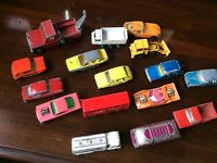 Vintage MATCHBOX corgi juniors majorette toy diecast bundle restoration JOB LOT