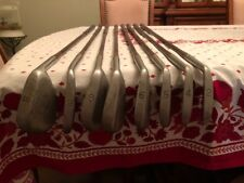 VINTAGE WALTER HAGEN Stainless Steel 205 Signature  Irons Set