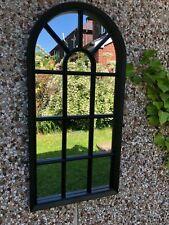 WINDOW STYLE MIRROR GIRLS WINDOW ARCH SOHO WINDOW MIRROR HALLWAY MIRROR 69cm