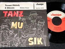 GÜNTHER KARPA Sunset-Melody & Il Silenzio / DDR SP 1965 AMIGA 450525