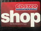 Costco Shop Card $30.00 No Membership Required For Sale