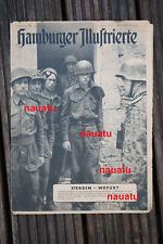 Original Hamburger Illustrierte Britische Fallschirmjäger Caen Normandie 1944