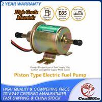 HEP-02A Electric Fuel Pump Gas Diesel Inline Low Pressure 12V 4-7 PSI Universal