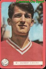 012 EMILIO SALABER ESPANA NIMES OLYMPIQUE FOOTBALL CARTE MIROIR SPRINT 1960's