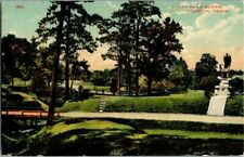 1910. CITY PARK. HOUSTON, TX. POSTCARD. TW5