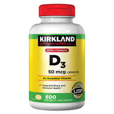 Kirkland D3 Vitamins 600 SOFTGELS (2000 IU)