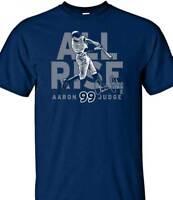 New York Yankees AARON JUDGE #99 MLBPA All Rise Youth Boys Tee Shirt, Navy