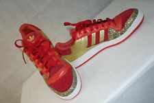 """Adidas decade low money mens size 10 trainers nwb red and gold """"rare"""""""