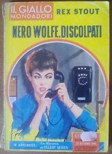 Il Giallo Mondadori 608 - Nero Wolfe, discolpati