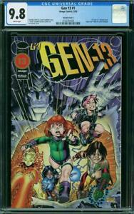 Gen 13 #1 CGC 9.8 NM/MINT ***Art Adams VARIANT COVER C*** Image Comics 3/1995