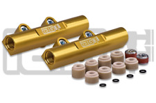 IAG V3 GOLD TOP FEED FUEL RAILS FOR 2002-14 WRX, 2007+ STI IAG-AFD-2102GD