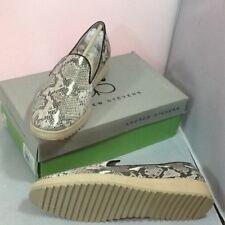 Andrew Stevens Women's Shoes Slip On ZINNIA Grey Snake 10M