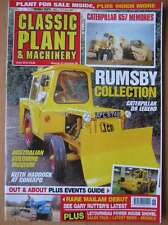 Classic Plant & Machinery June 2014 Caterpillar 657 D8 Rumsby Collection L1400