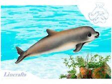 Juguete Suave Felpa Marsopa Vaquita criatura del mar de Hansa 6804