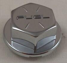 Fuel Wheels Chrome Custom Wheel Dummy Bolts Center Cap Caps # 963 / 5150-16